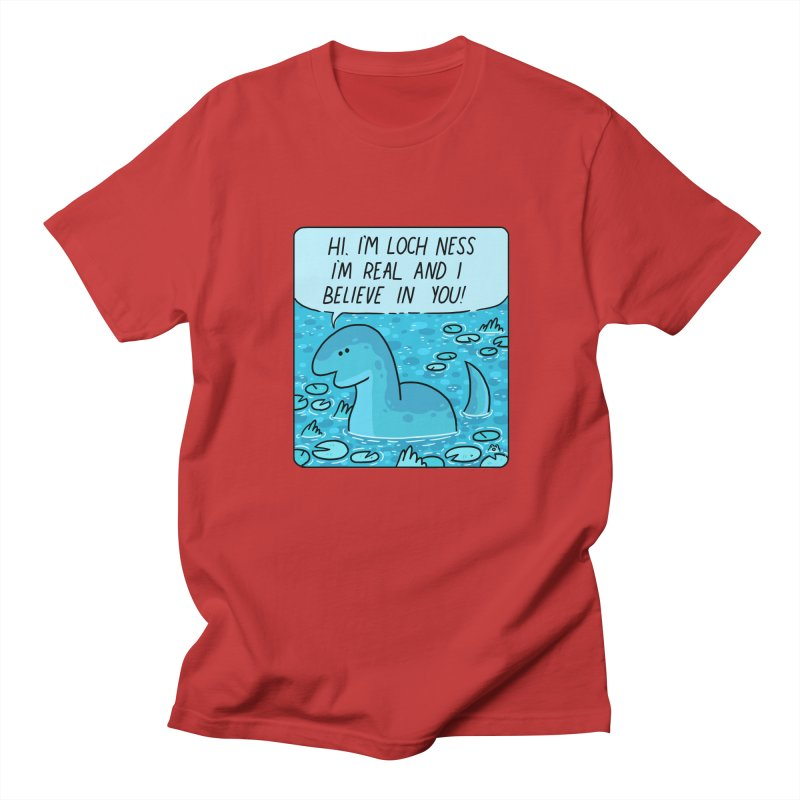 LOCH NESS BELIEVES IN YOU Women's Regular Unisex T-Shirt by GOOD AND NICE SHIRTS