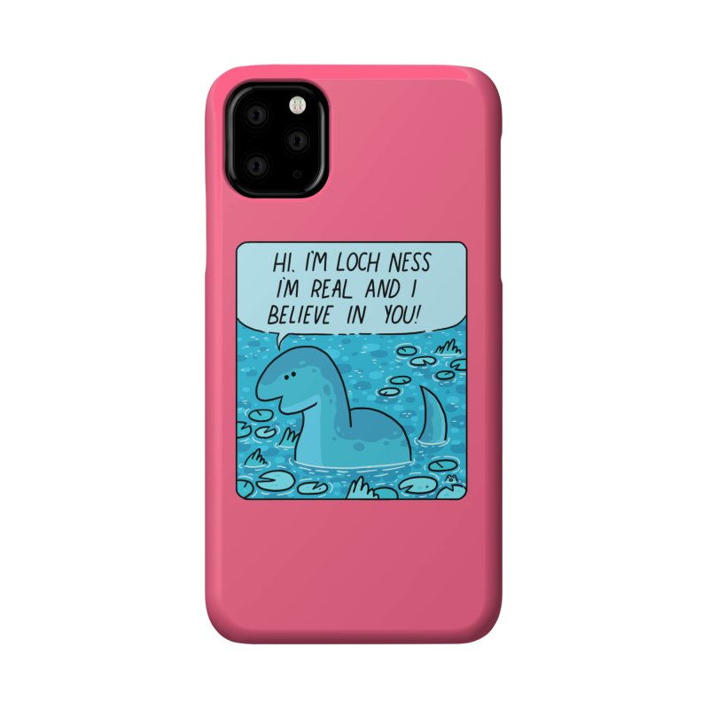 LOCH NESS BELIEVES IN YOU Accessories Phone Case by GOOD AND NICE SHIRTS