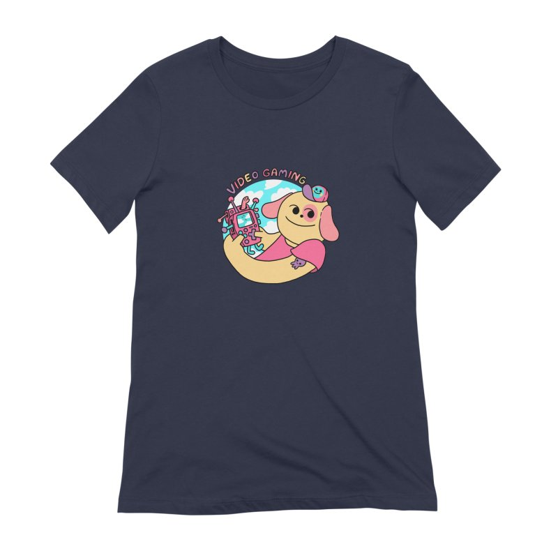 VIDEO GAMING Women's Extra Soft T-Shirt by GOOD AND NICE SHIRTS