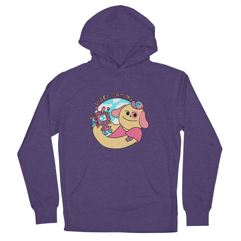 VIDEO GAMING Women's French Terry Pullover Hoody by GOOD AND NICE SHIRTS