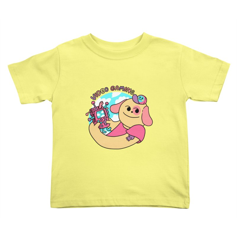 VIDEO GAMING Kids Toddler T-Shirt by GOOD AND NICE SHIRTS