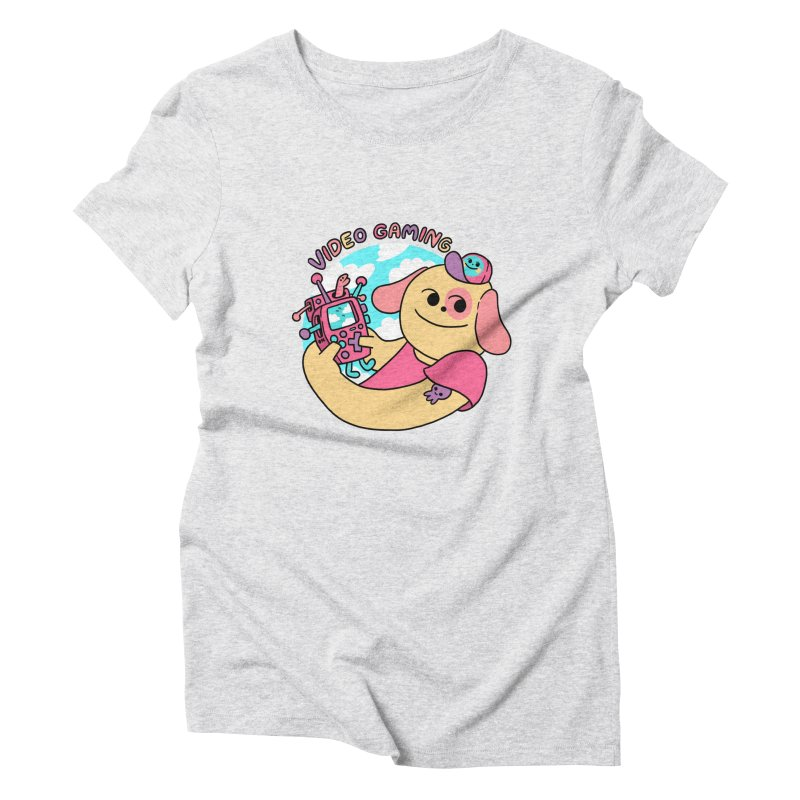 VIDEO GAMING Women's T-Shirt by GOOD AND NICE SHIRTS