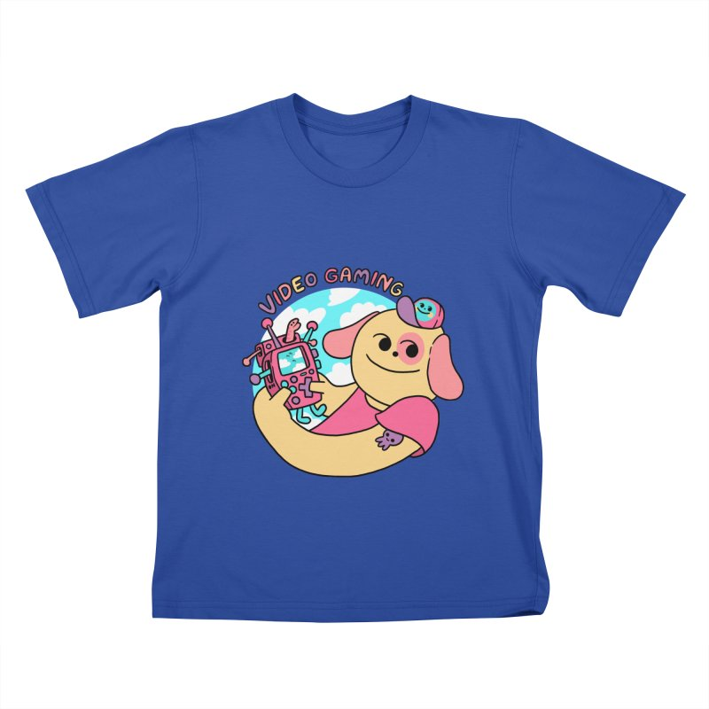 VIDEO GAMING Kids T-Shirt by GOOD AND NICE SHIRTS