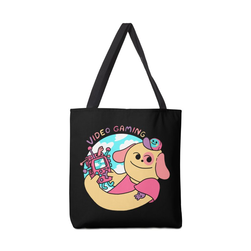 VIDEO GAMING Accessories Tote Bag Bag by GOOD AND NICE SHIRTS