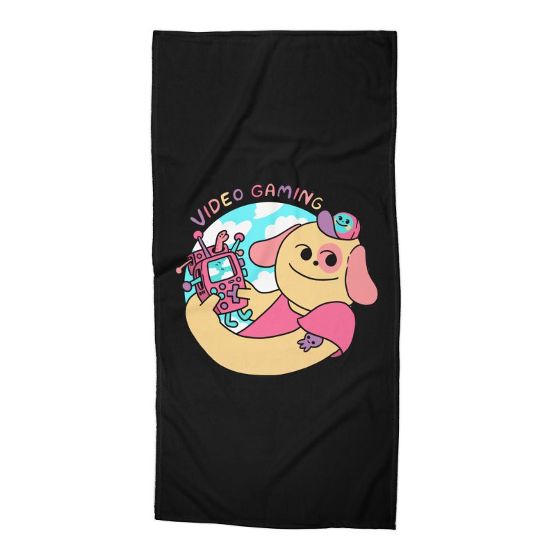 VIDEO GAMING Accessories Beach Towel by GOOD AND NICE SHIRTS