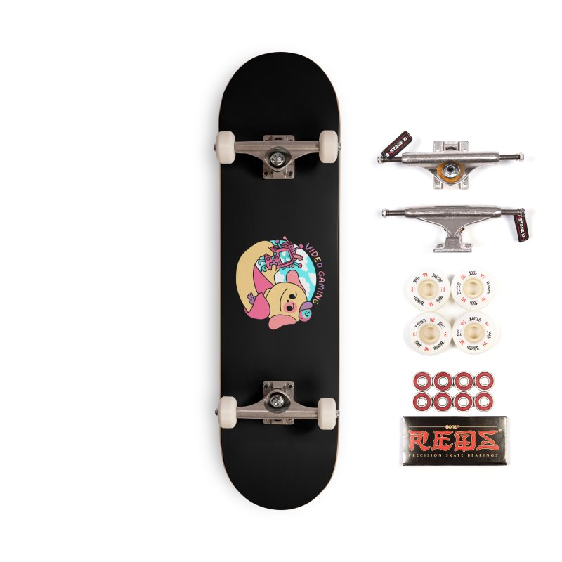 VIDEO GAMING Accessories Complete - Pro Skateboard by GOOD AND NICE SHIRTS