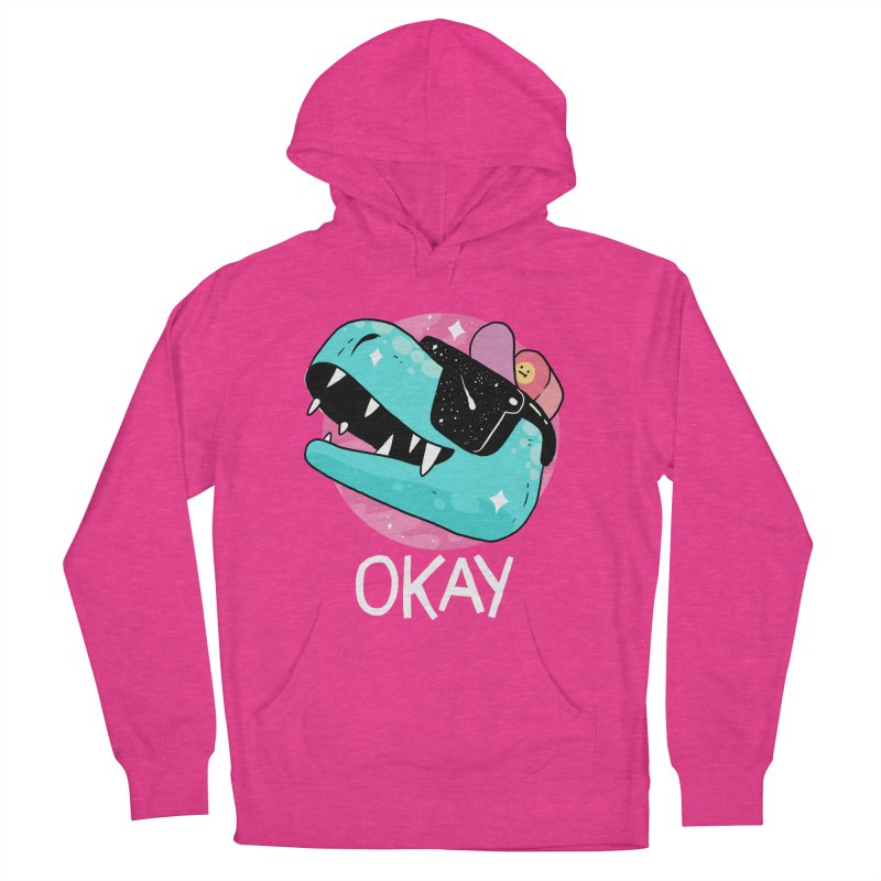 OKAY! Women's Pullover Hoody by GOOD AND NICE SHIRTS