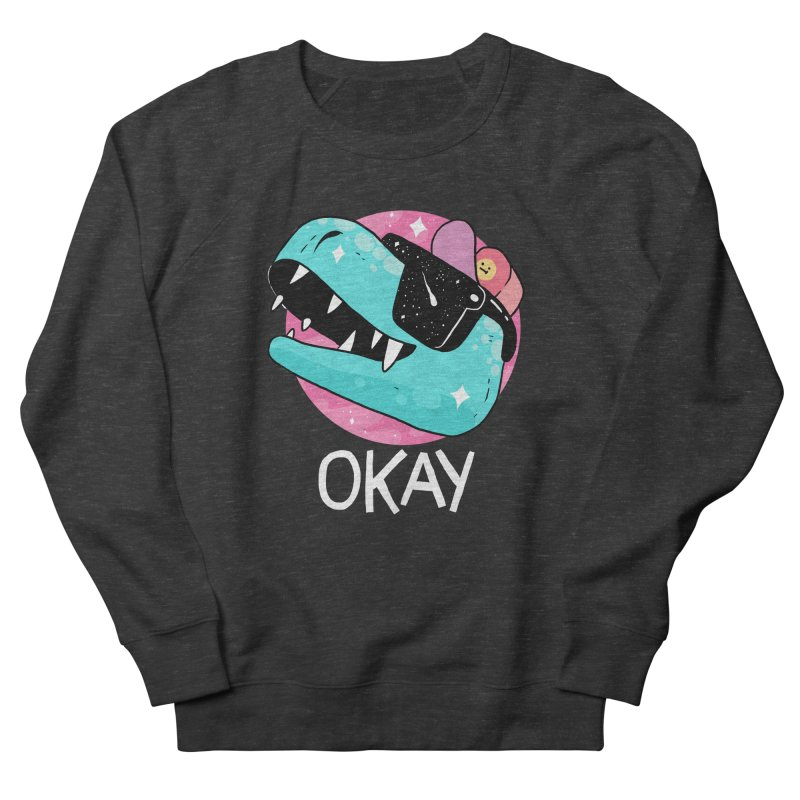 OKAY! Men's Sweatshirt by GOOD AND NICE SHIRTS