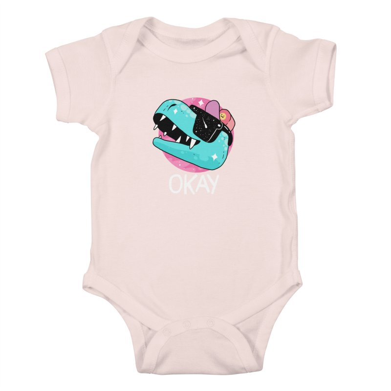 OKAY! Kids Baby Bodysuit by GOOD AND NICE SHIRTS