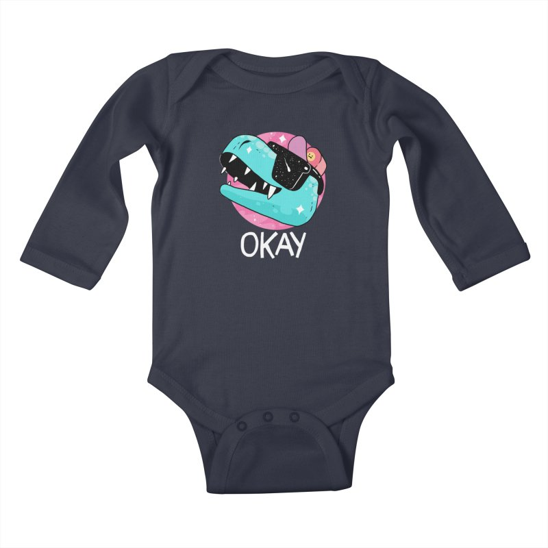 OKAY! Kids Baby Longsleeve Bodysuit by GOOD AND NICE SHIRTS