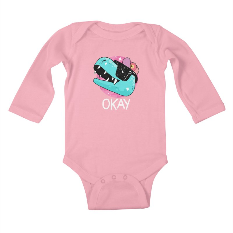 OKAY! Kids Baby Longsleeve Bodysuit by GOOD AND NICE SHIRTS