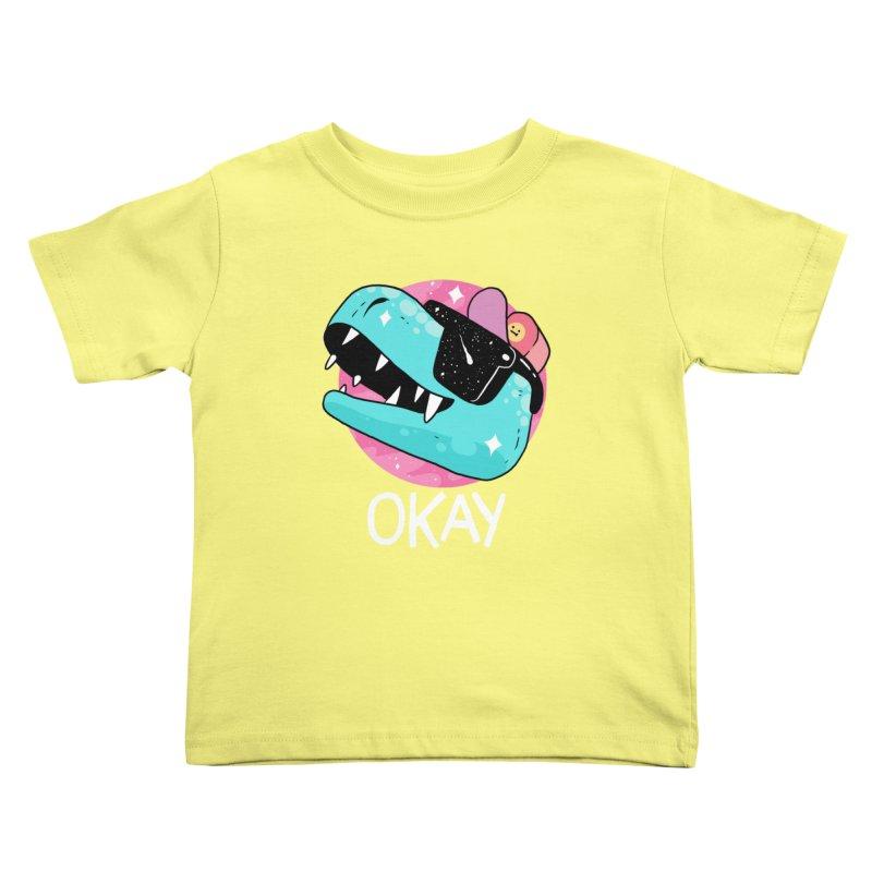 OKAY! Kids Toddler T-Shirt by GOOD AND NICE SHIRTS