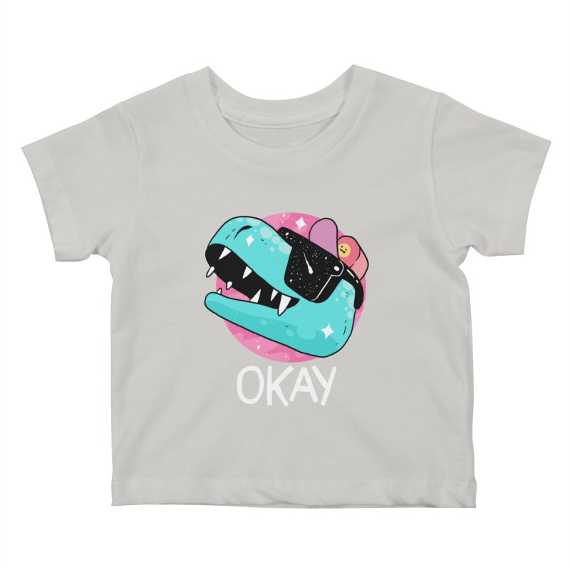 OKAY! Kids Baby T-Shirt by GOOD AND NICE SHIRTS