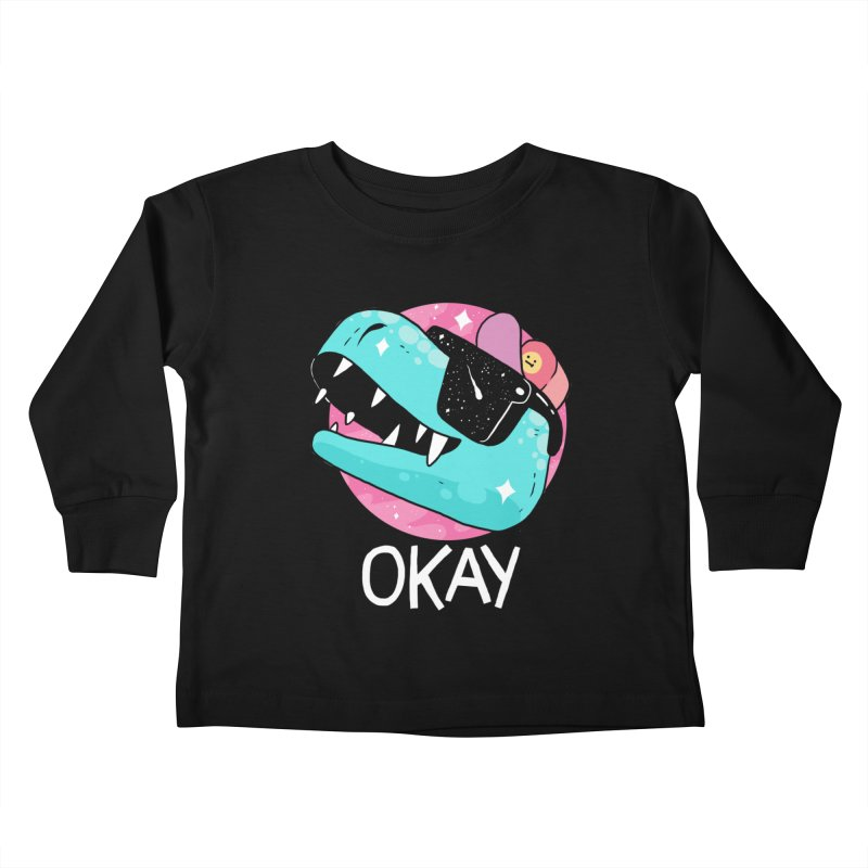OKAY! Kids Toddler Longsleeve T-Shirt by GOOD AND NICE SHIRTS