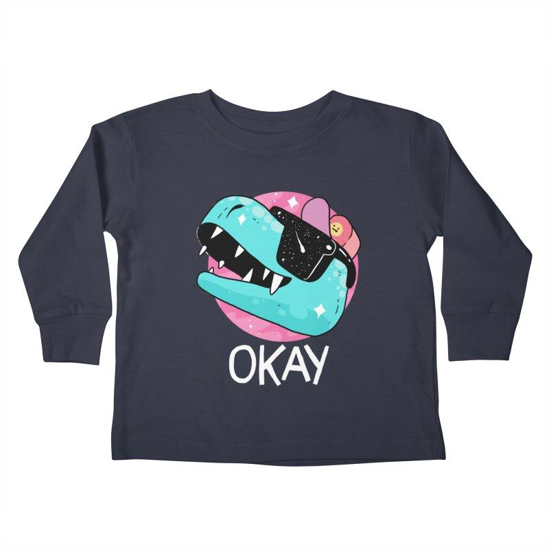 OKAY! Kids Toddler Longsleeve T-Shirt by GOOD AND NICE SHIRTS