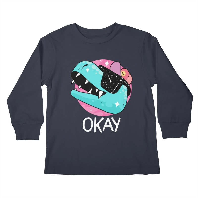OKAY! Kids Longsleeve T-Shirt by GOOD AND NICE SHIRTS