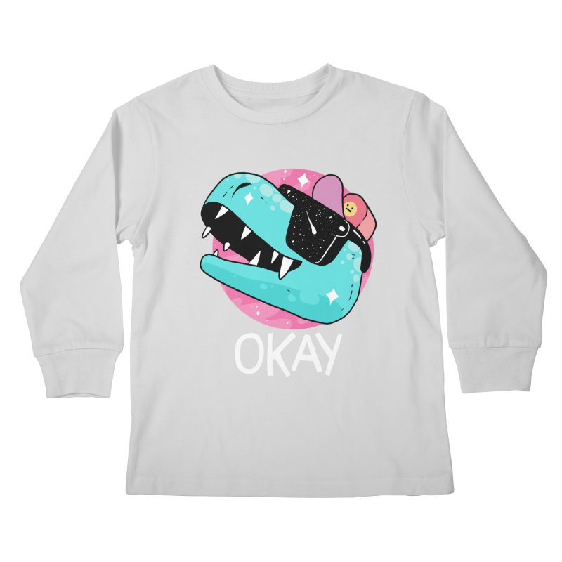 OKAY! Kids Longsleeve T-Shirt by GOOD AND NICE SHIRTS