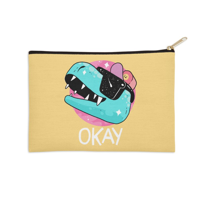 OKAY! Accessories Zip Pouch by GOOD AND NICE SHIRTS