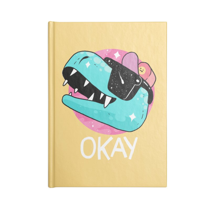 OKAY! Accessories Notebook by GOOD AND NICE SHIRTS