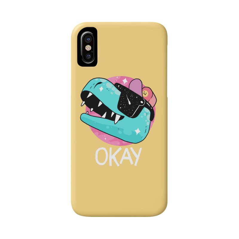 OKAY! Accessories Phone Case by GOOD AND NICE SHIRTS