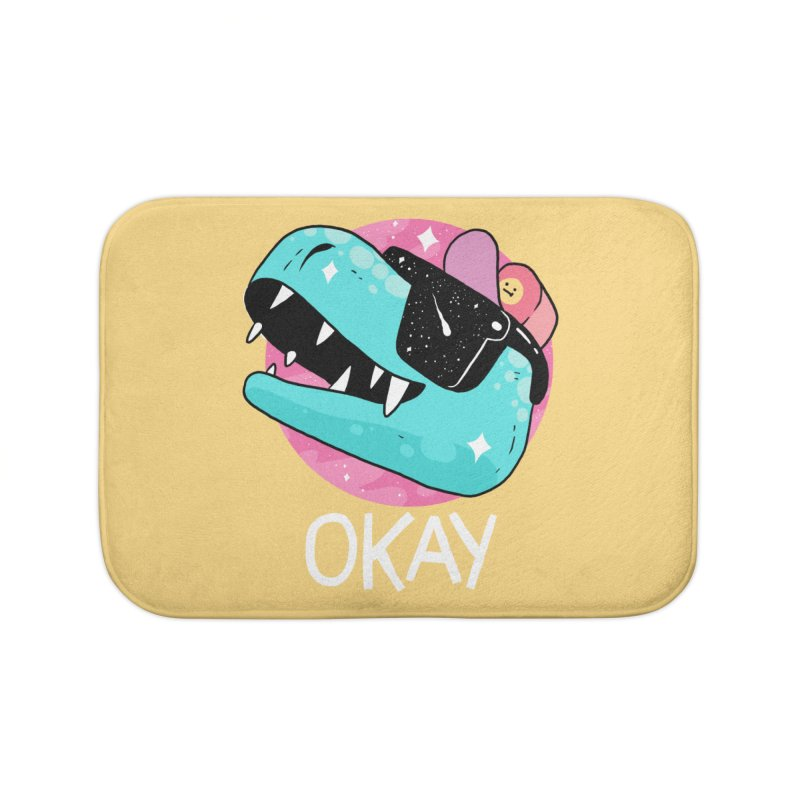 OKAY! Home Bath Mat by GOOD AND NICE SHIRTS