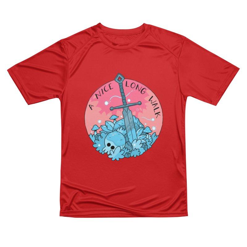 A NICE LONG WALK Men's Performance T-Shirt by GOOD AND NICE SHIRTS