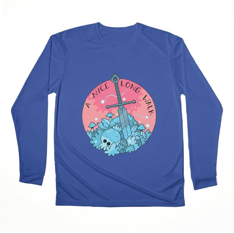 A NICE LONG WALK Women's Performance Unisex Longsleeve T-Shirt by GOOD AND NICE SHIRTS