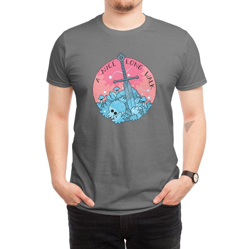 A NICE LONG WALK Men's T-Shirt by GOOD AND NICE SHIRTS