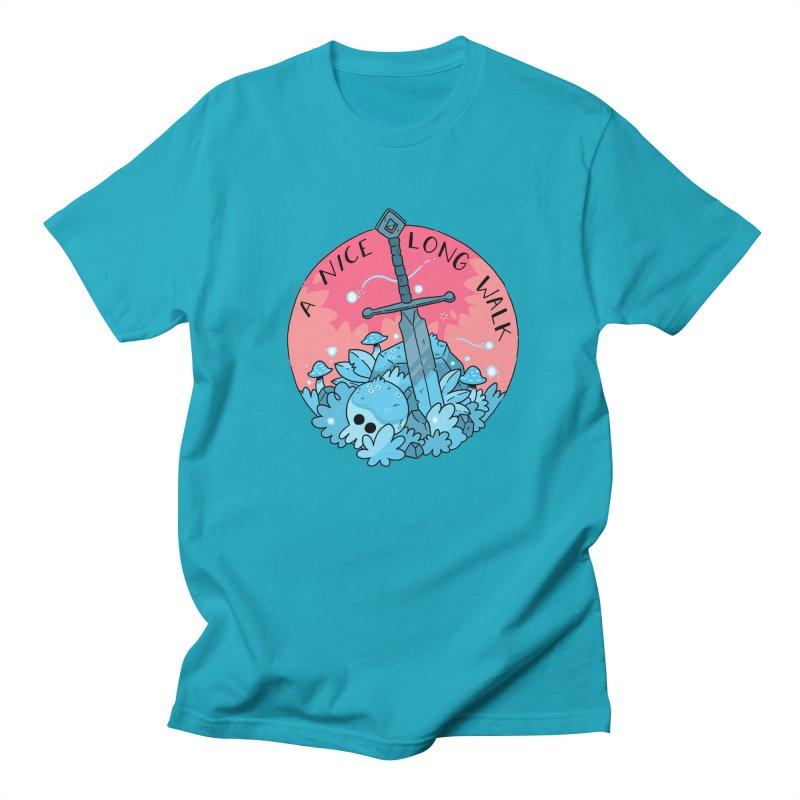 A NICE LONG WALK Women's Regular Unisex T-Shirt by GOOD AND NICE SHIRTS