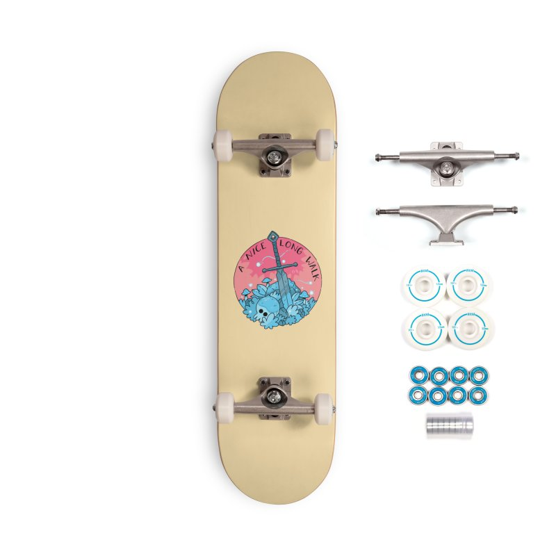 A NICE LONG WALK Accessories Complete - Basic Skateboard by GOOD AND NICE SHIRTS