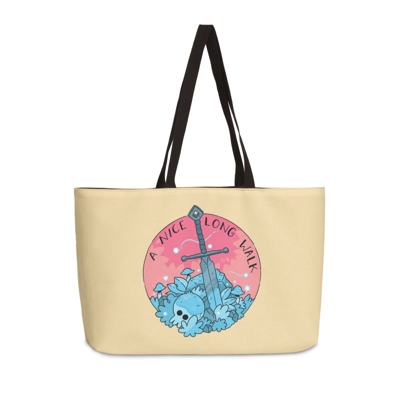 A NICE LONG WALK Accessories Bag by GOOD AND NICE SHIRTS