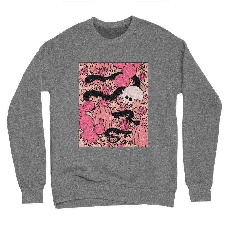 CACTUS COUNTRY Men's Sponge Fleece Sweatshirt by GOOD AND NICE SHIRTS