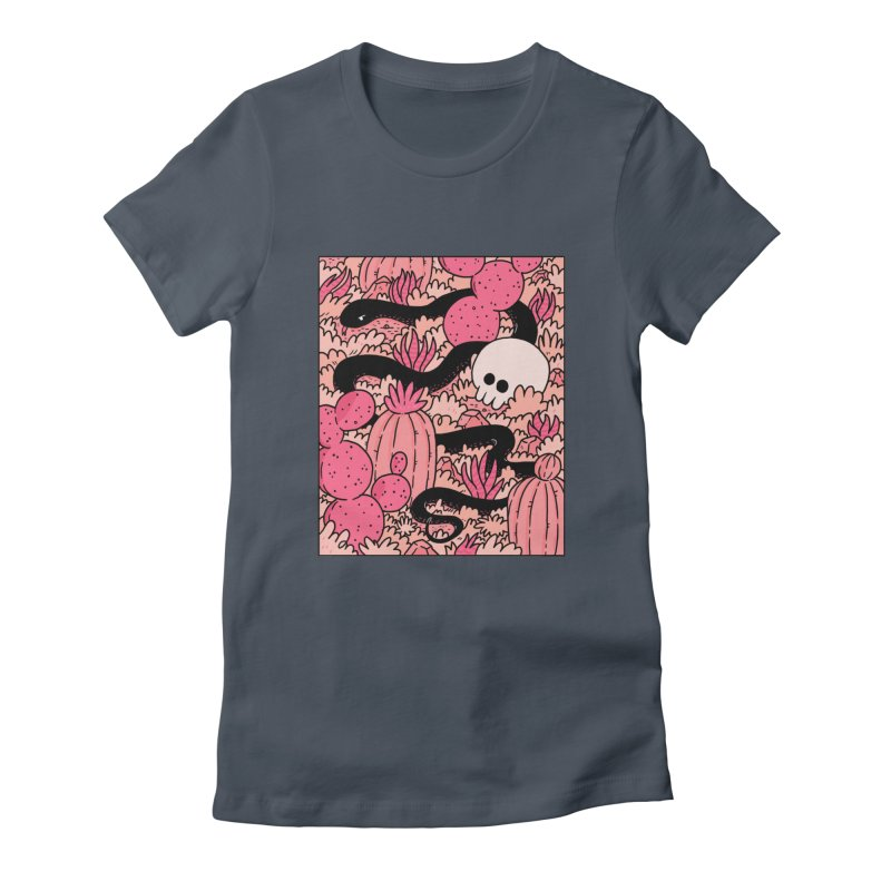 CACTUS COUNTRY Women's T-Shirt by GOOD AND NICE SHIRTS