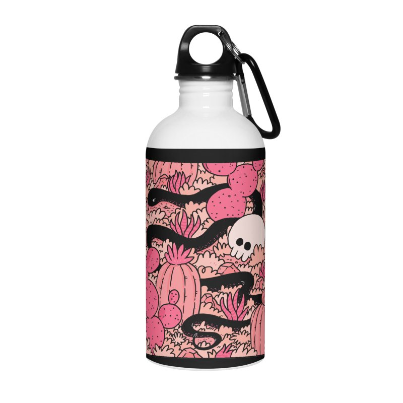 CACTUS COUNTRY Accessories Water Bottle by GOOD AND NICE SHIRTS