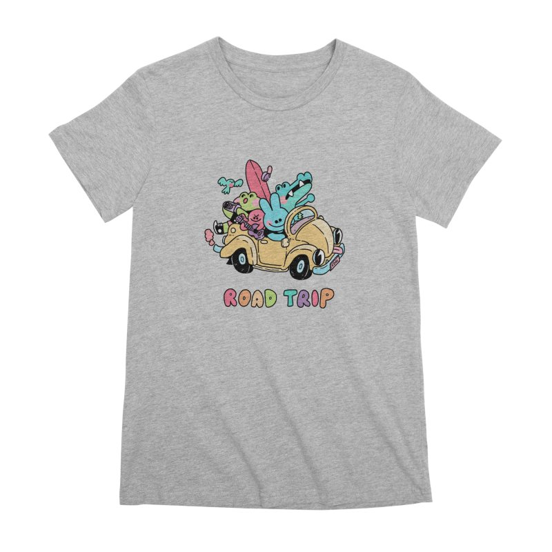 ROAD TRIP Women's Premium T-Shirt by GOOD AND NICE SHIRTS
