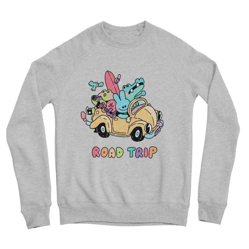 ROAD TRIP Men's Sponge Fleece Sweatshirt by GOOD AND NICE SHIRTS