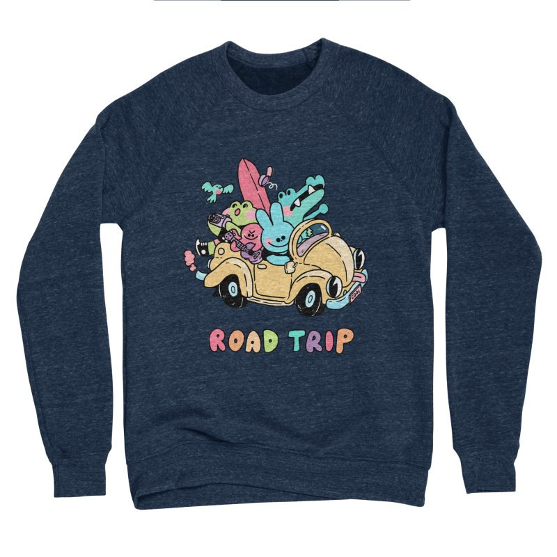 ROAD TRIP Women's Sponge Fleece Sweatshirt by GOOD AND NICE SHIRTS