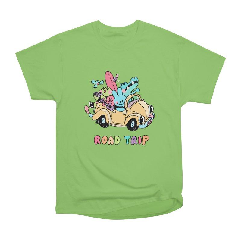 ROAD TRIP Men's Heavyweight T-Shirt by GOOD AND NICE SHIRTS