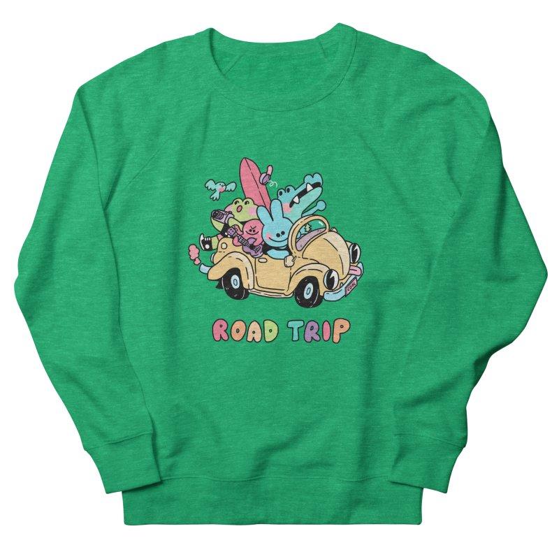ROAD TRIP Women's Sweatshirt by GOOD AND NICE SHIRTS