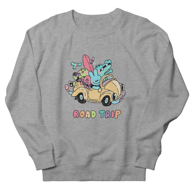 ROAD TRIP Women's French Terry Sweatshirt by GOOD AND NICE SHIRTS