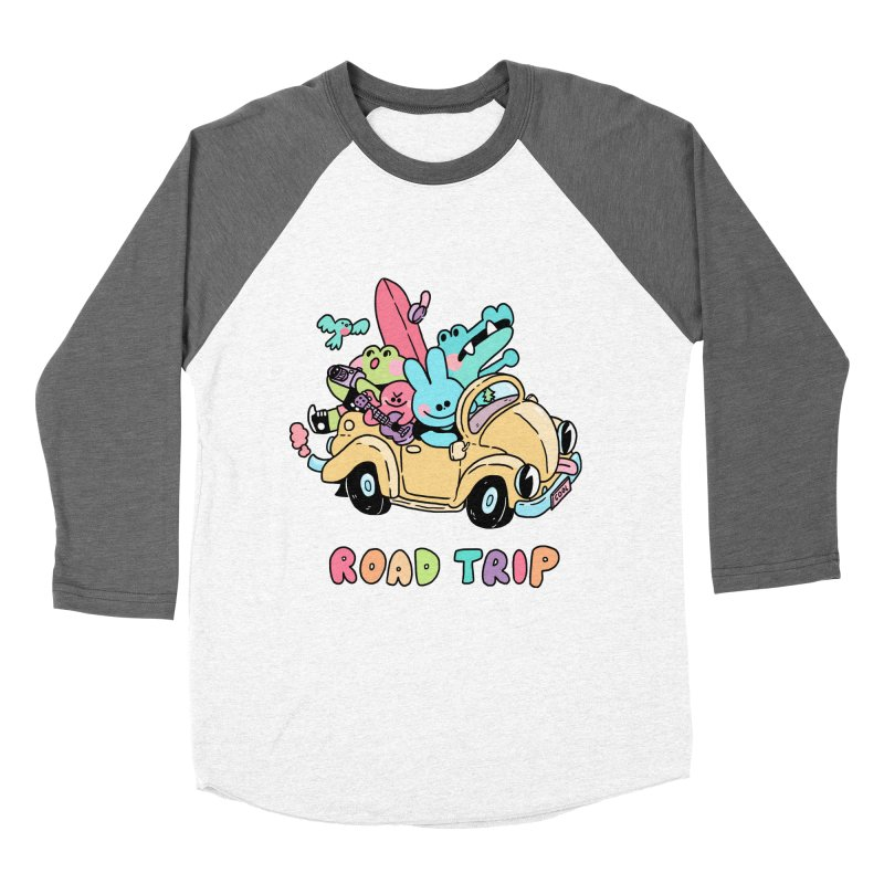 ROAD TRIP Women's Baseball Triblend Longsleeve T-Shirt by GOOD AND NICE SHIRTS