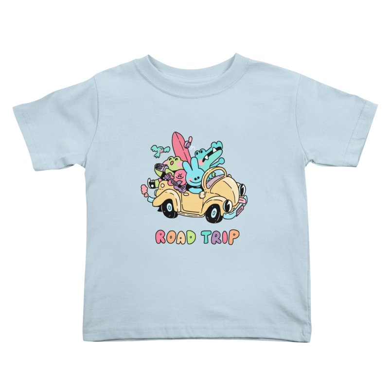 ROAD TRIP Kids Toddler T-Shirt by GOOD AND NICE SHIRTS