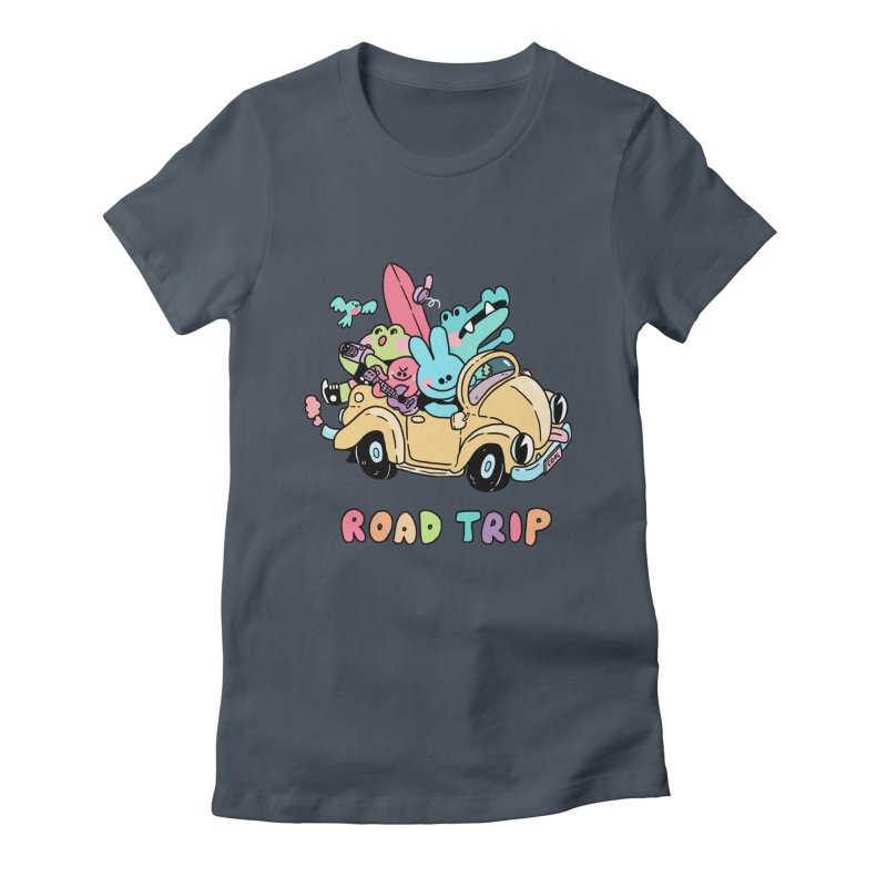 ROAD TRIP Women's T-Shirt by GOOD AND NICE SHIRTS