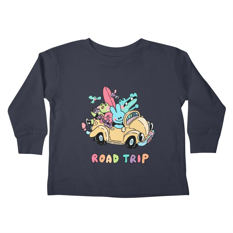 ROAD TRIP Kids Toddler Longsleeve T-Shirt by GOOD AND NICE SHIRTS