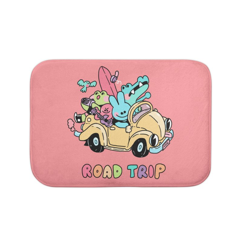 ROAD TRIP Home Bath Mat by GOOD AND NICE SHIRTS