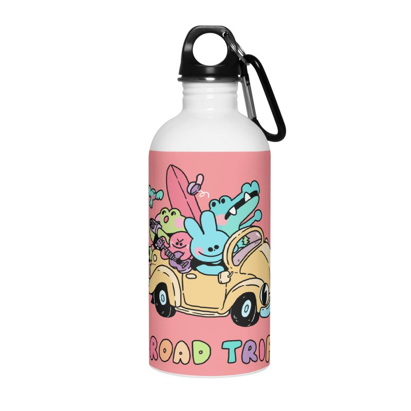 ROAD TRIP Accessories Water Bottle by GOOD AND NICE SHIRTS