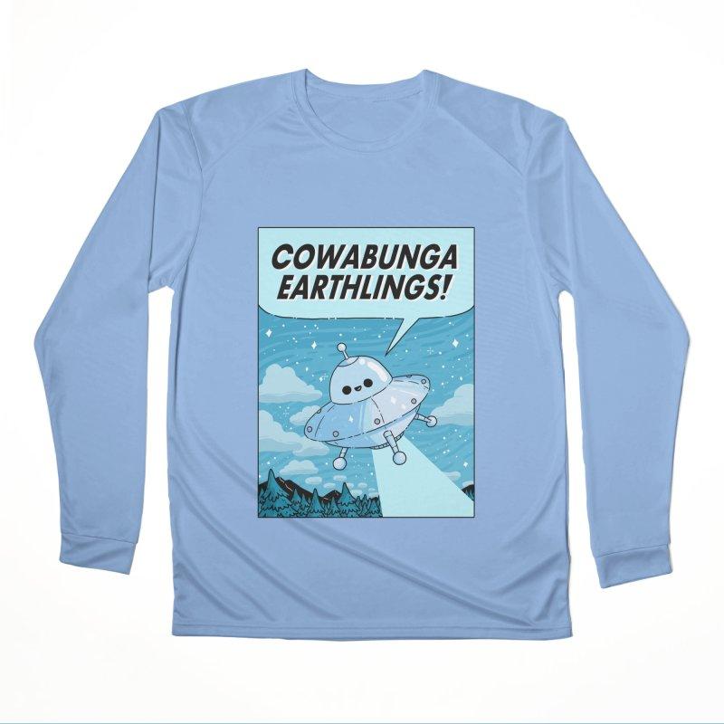 COWABUNGA EARTHLINGS Women's Performance Unisex Longsleeve T-Shirt by GOOD AND NICE SHIRTS