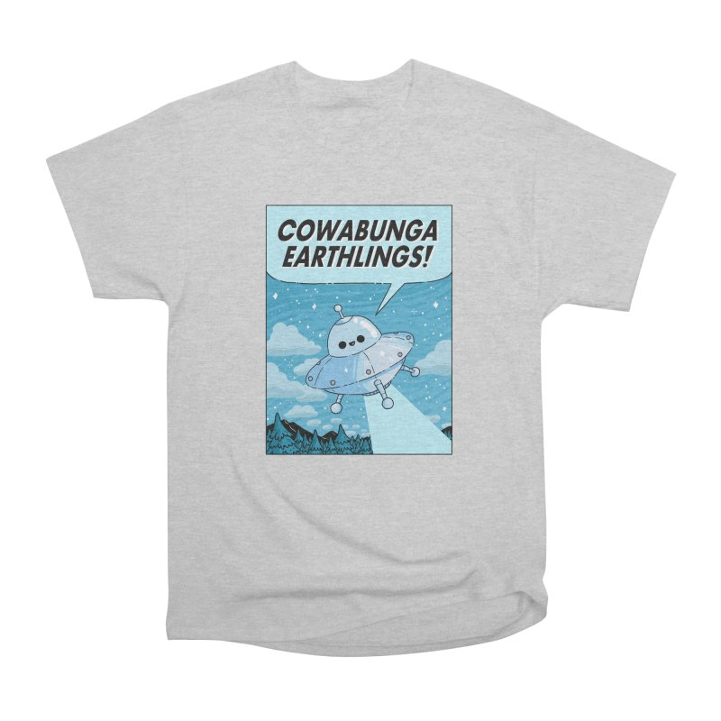 COWABUNGA EARTHLINGS Men's T-Shirt by GOOD AND NICE SHIRTS