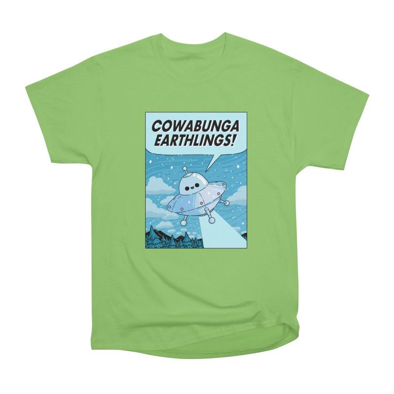 COWABUNGA EARTHLINGS Men's T-Shirt by GOOD AND NICE SHIRTS