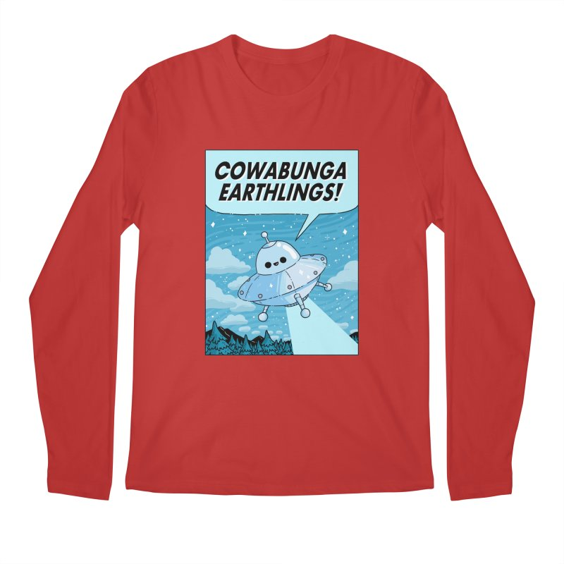 COWABUNGA EARTHLINGS Men's Regular Longsleeve T-Shirt by GOOD AND NICE SHIRTS